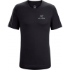 Arc'teryx Emblem Short Sleeve T-Shirt - Men's, Black, Large