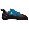 Evolv Raptor Men's Climbing Shoes, Blue/Orange, 6