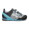 Lowa Approach Pro GTX Lo Approach Shoe - Women's, Graphite/Turquoise, 5.5, Medium, 055