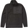 Billabong Boundary Mock Half Zip Fleece Hoody - Mens, Black, Medium