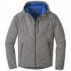 Outdoor Research Refuge Hooded Jacket - Mens, Pewter, Small