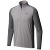 Mountain Hardwear Butterman Half-Zip Shirt - Men's, Manta Grey, Shark, Large