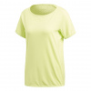 Adidas Outdoor Climachill Tee Women's Shirt, Semi Frozen Yellow, Large