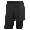 Adidas Outdoor Agravic 2-in-1 Parley Men's Short, Black, 30