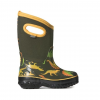 Bogs Classic Dino Insulated Boots - Kids, Moss Multi, 10