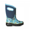 Bogs Classic Owl Insulated Boots - Kids, Blue Multi, 10