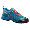 Salewa Wildfire Vent Approach Shoes, River Blue/Clementine, 9.5