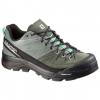 Salomon X Alp LTR Approach Shoe - Women's, Light TT/Night Forest/Jade Green, 7