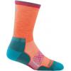 Darn Tough Vertex Micro Crew Ultra-Light Cushion Sock Women's, Coral, Large
