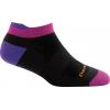 Darn Tough Running Vertex W No Show Tab Ultra-Light Cushion Sock Women's, Black, Large
