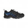 Adidas Outdoor Terrex Swift R2 GTX Hiking Shoe - Men's, Black/Black/Bright Blue, 10