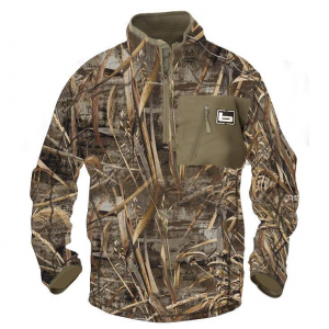 Banded 1/4 Zip Mid Layer Fleece Waterfowl Pullover