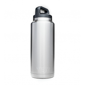 YETI Rambler 36 oz Insulated Bottle-Silver-36 oz