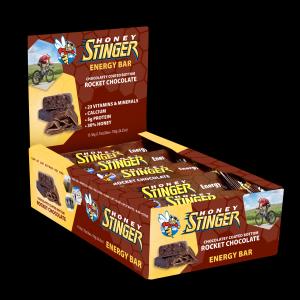 Honey Stinger Energy Bars - Box of 15-Rocket Chocolate