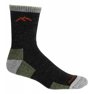 Darn Tough 1466 Cushion Hiker - Merino Wool - Micro Crew Sock - Black - Medium