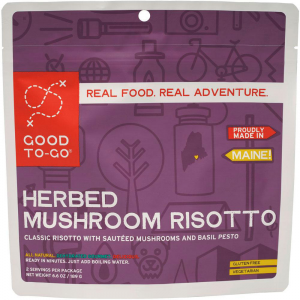 Good To-Go Herbed Mushroom Risotto Dehydrated Meal-Herbed Mushroom Risotto