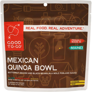 Good To-Go Mexican Quinoa Bowl Dehydrated Meal-Mexican Quinoa Bowl