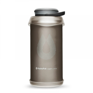 HydraPak Stash 1 Liter Compressible On-the-Go Water Bottle