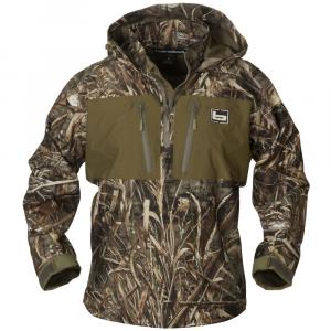 Banded 1/4 Zip Hooded Waterproof Pullover
