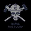 CAT 1128043 004 Grey Logo Acrylic Beanie Cap