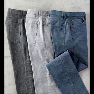 Agave Coco Melange Twill Jeans