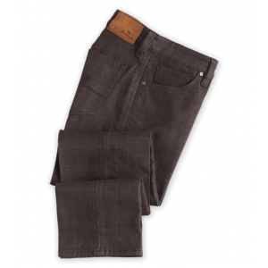 34 Heritage Plaid Courage Jeans