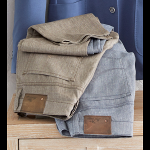 34 Heritage Courage Linen Blend Jeans