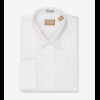 Gitman Brothers Long Sleeve Point Collar French Cuff Pinpoint Dress Shirt
