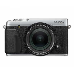 Fujifilm X-E2s Digital Camera w\/XF 18-55mm Lens Kit (Silver)