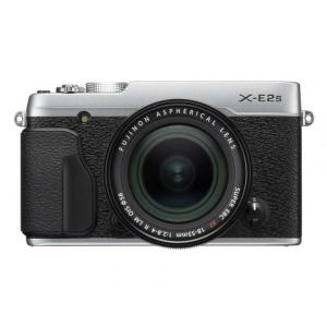 Fujifilm X-E2s Digital Camera w\/XF 18-55mm Lens Kit (Silver)