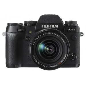 Fujifilm X-T1 Digital Camera w\/ 18-55mm Lens Kit (Black)