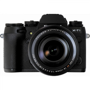 Fujifilm X-T1 Digital Camera w\/ 18-135mm Lens Kit (Black)