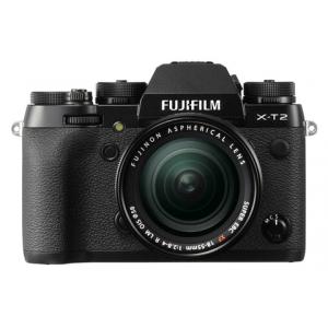 Fujifilm X-T2 Digital Camera w\/ 18-55mm Lens Kit (Black)