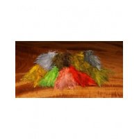 Hareline Dubbin Fly Tying Material - Grizzly Marabou