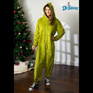The Grinch Adult Kigurumi Costume