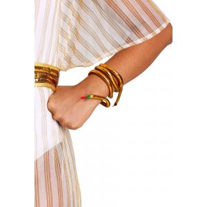 Snake Bracelet for Medusa or Cleopatra Costume