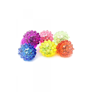 Strawberry Bump Flashing Ring in Assorted Colors