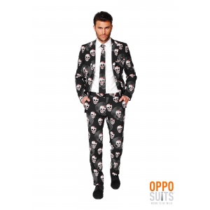 Men's OppoSuits Skulleton Suit Costume