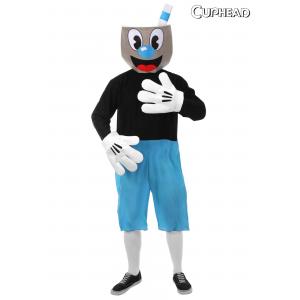 Mugman Adult Costume