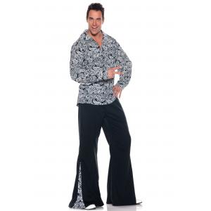 Plus Size Funky Disco Costume 2X 3X XXL XXXL