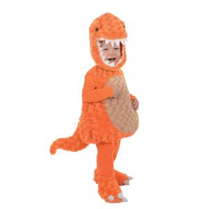 Toddler Orange T-Rex Costume