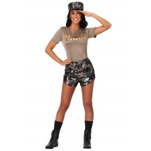 Boot Camp Babe Women's Costume