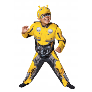 Toddler Bumblebee Movie Transformer Costume
