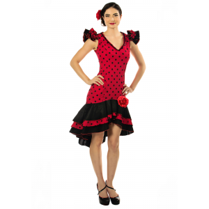 Women's Plus Size Spanish Dancer Costume 2X