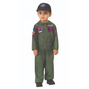 Top Gun Toddler Romper Costume