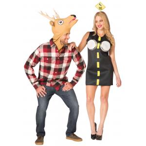 Couples Costume - Deer in Headlights