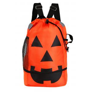 Drawstring Jack O'Lantern Treat Bag