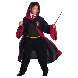Deluxe Gryffindor Student Costume for Kids