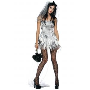 Sexy Zombie Bride Costume