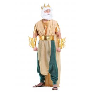 Poseidon Costume for Plus Size Men 2X 3X